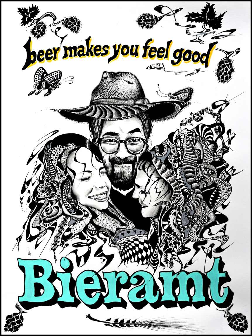 """Bieramt – beer makes you feel good"""