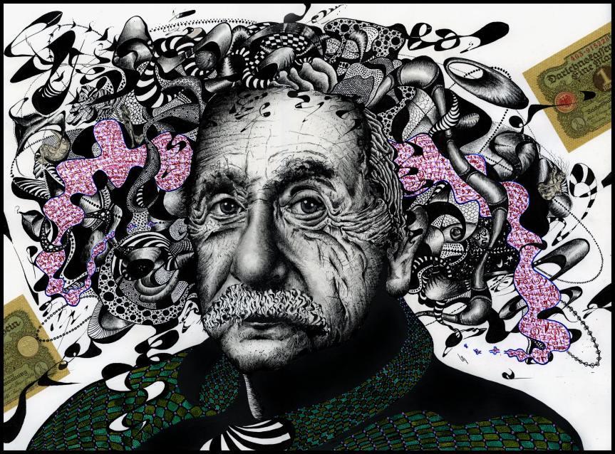 """Albert Einstein IV. """"Relativitätstheorie"""""""